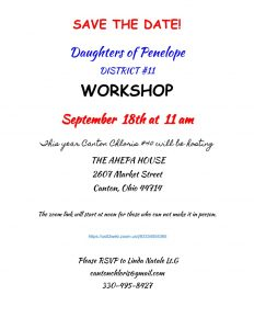 DOP District Workshop @ Canton | Ohio | United States