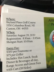 2020 Annual Reverend Father Spirtos Golf Outing, AHEPA Chapter#59 @ 2020 Annual Reverend Father Spirtos AHEPA Golf Outing, Chapter#59, Canton, OH | Canton | Ohio | United States
